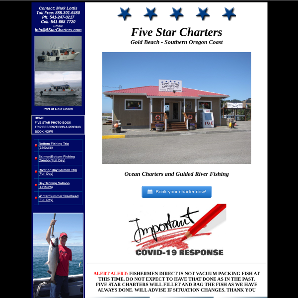 5 Star Charters