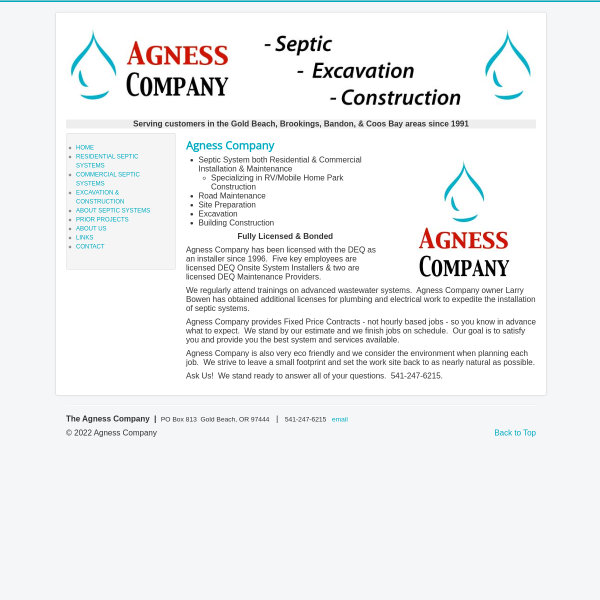 Agness Company