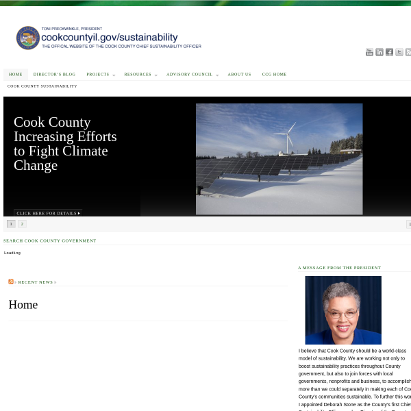 Cook County has been Nominated for the 2013 Chicago Innovation Awards