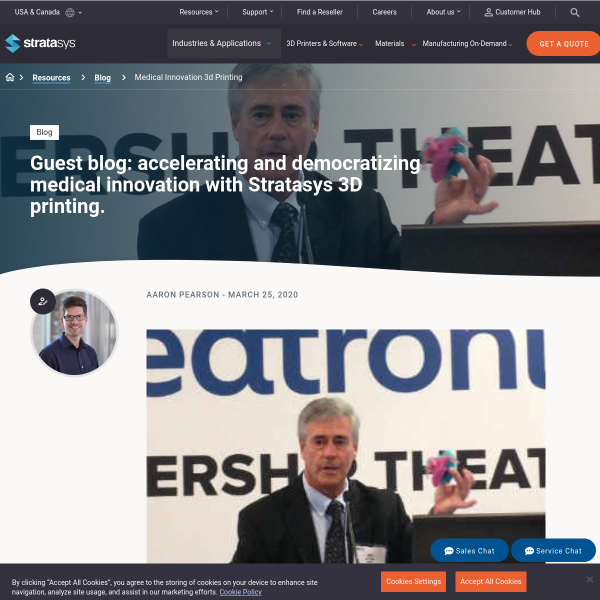 Accelerating Medical Innovation with Stratasys 3D Printing