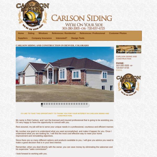 Carlson Siding