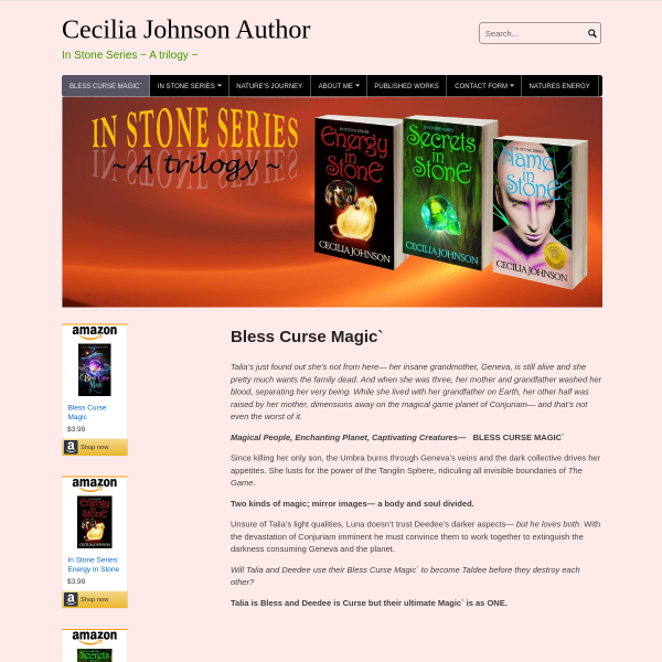 Cecilia Johnson Author