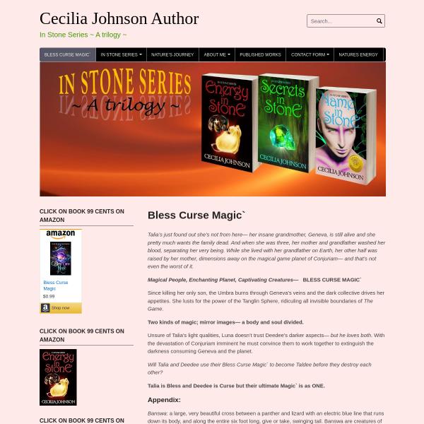 Cecilia Johnson Author