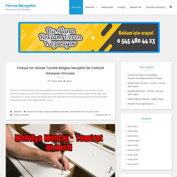 Firma Nevşehir