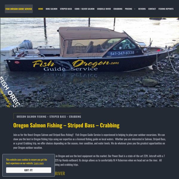 Fish Oregon Guide Service