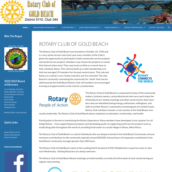 Rotary Club of Gold Beach