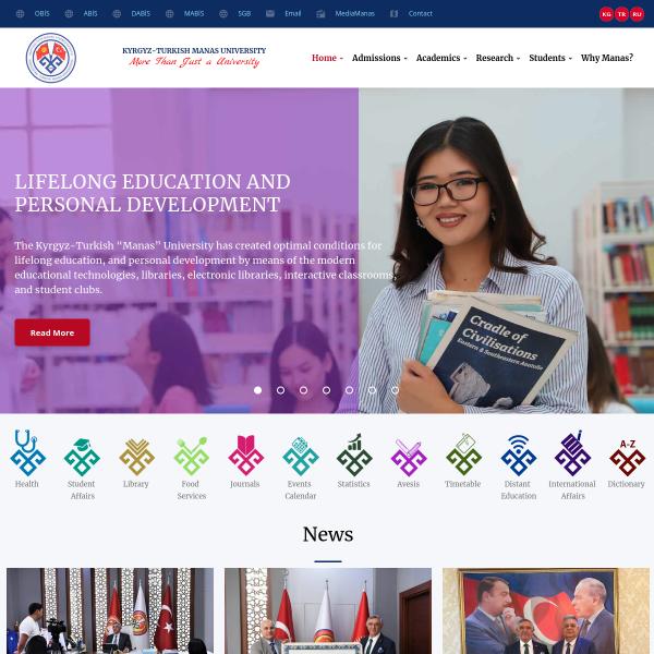 Kırgızistan Türkiye Manas Üniversitesi