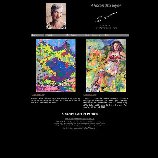 Alexandra Eyer Fine Portraits