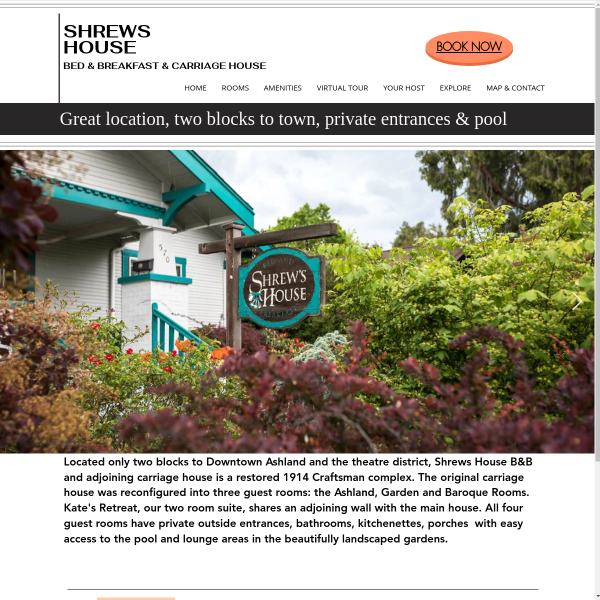 Shrews House - Bed and Light Continent Breakfast