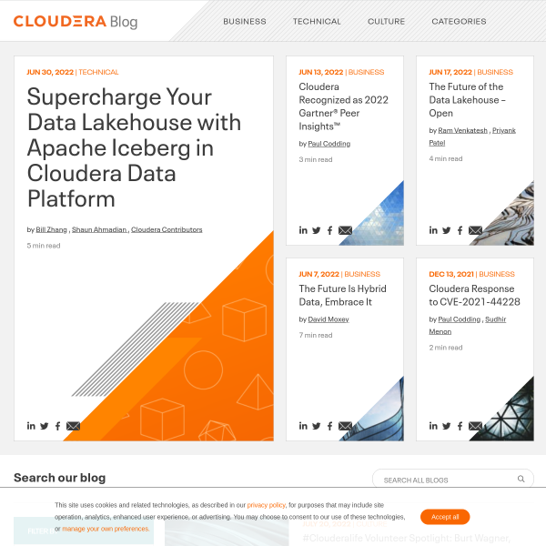 Cloudera 5.2: Hadoop Innovation without Compromise - Cloudera Blog