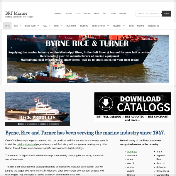 Byrne Rice Turner Marine