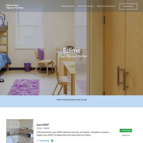 Edirne Yurtları