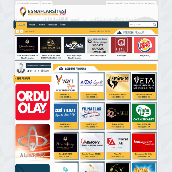 Esnaflarsitesi