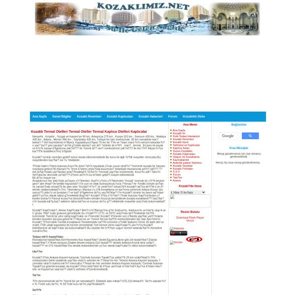 Kozaklı