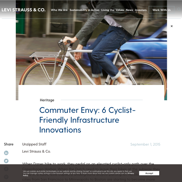 Commuter Envy: 6 Cyclist-Friendly Infrastructure Innovations