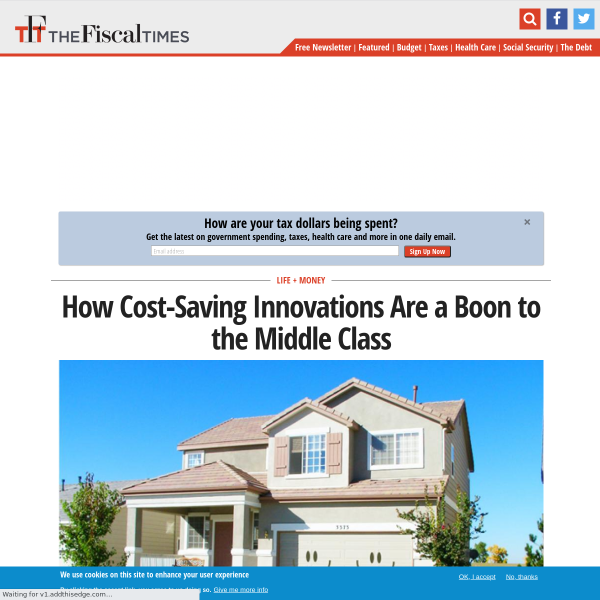 How Cost-Saving Innovations Are a Boon to the Middle Class
