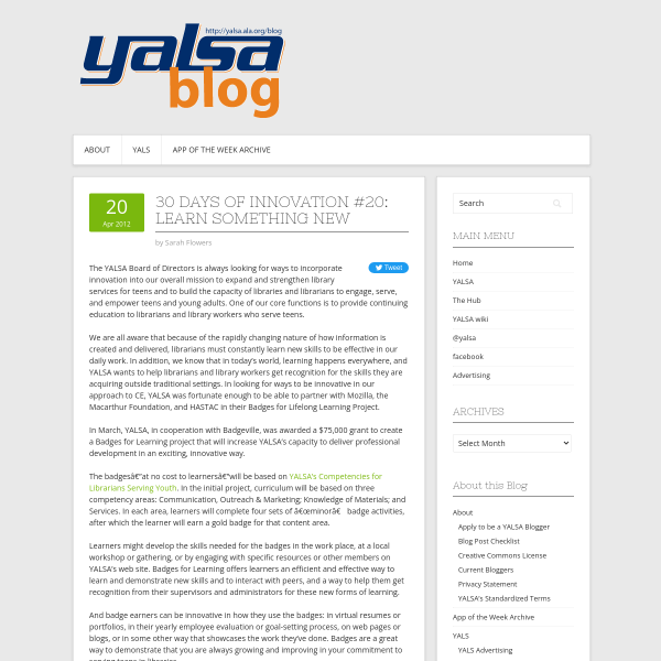30 Days of Innovation #20: Learn Something New