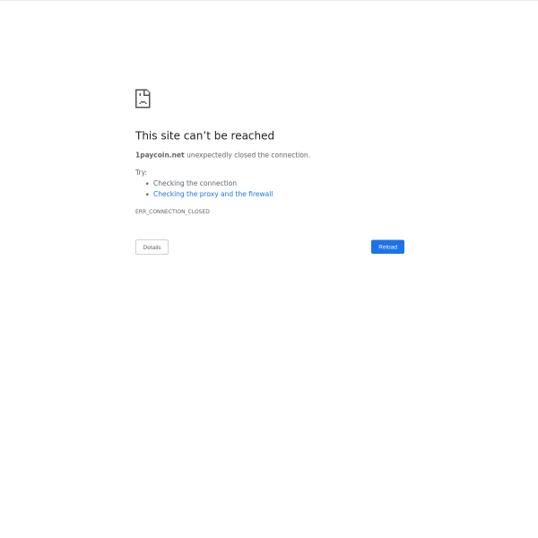 1paycoin.net screen