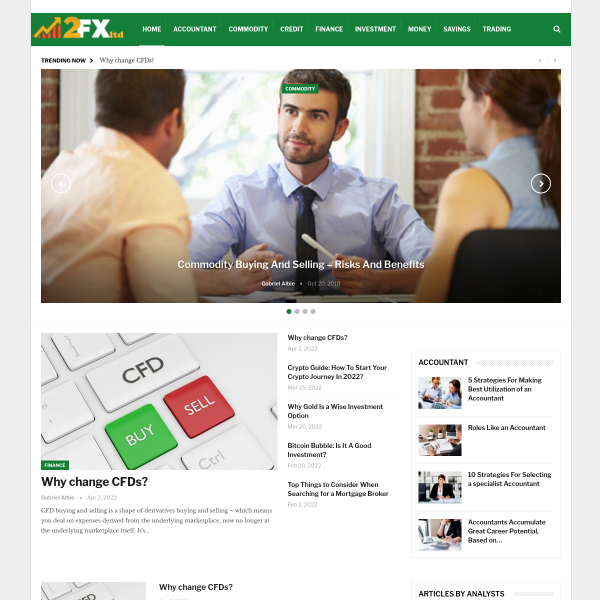 2fxltd.com screen
