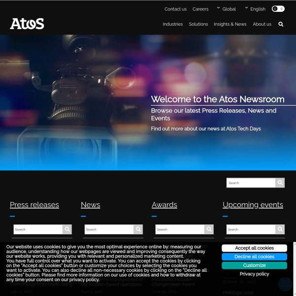 Insights & innovation - Atos