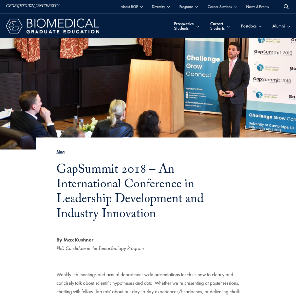 GapSummit 2018 - An International Conference in Leadership Development and Industry Innovation