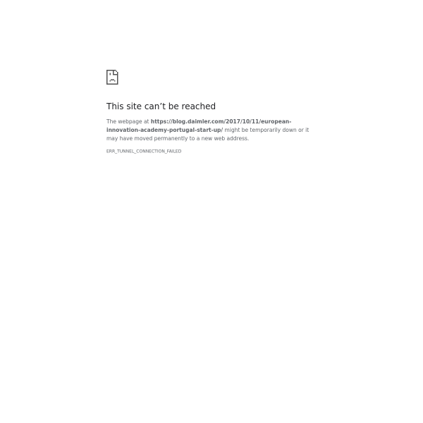 European Innovation Academy: How to launch a start-up in 15 days - Daimler-Blog