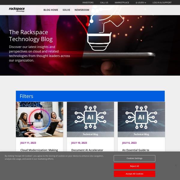 Meeting the Innovation Challenge - Rackspace UK Blog