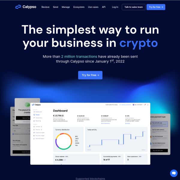 calypso.finance screen