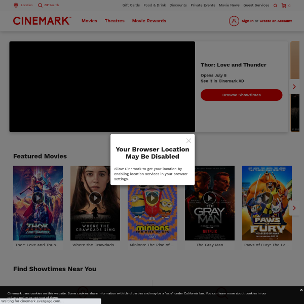 Cinemark Theatres - Movies, Tickets and Showtimes screenshot