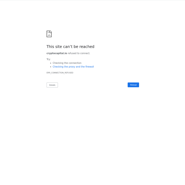 cryptocapital.io screen