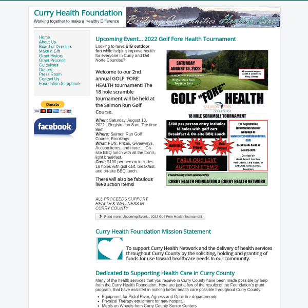 Curry Health Foundation
