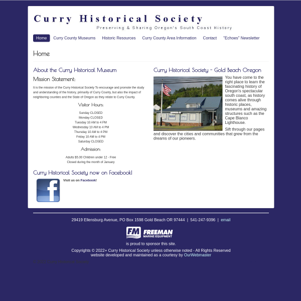 Curry Historical Society