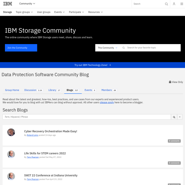The Innovations Just Keep on Coming with IBM Spectrum Protect and IBM Spectrum Protect Plus - Storage Solutions