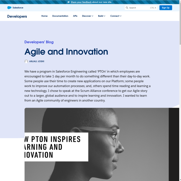 Agile and Innovation - Salesforce Developers Blog