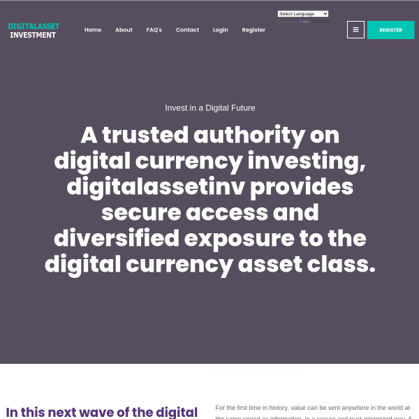digitalassetinv.com screen