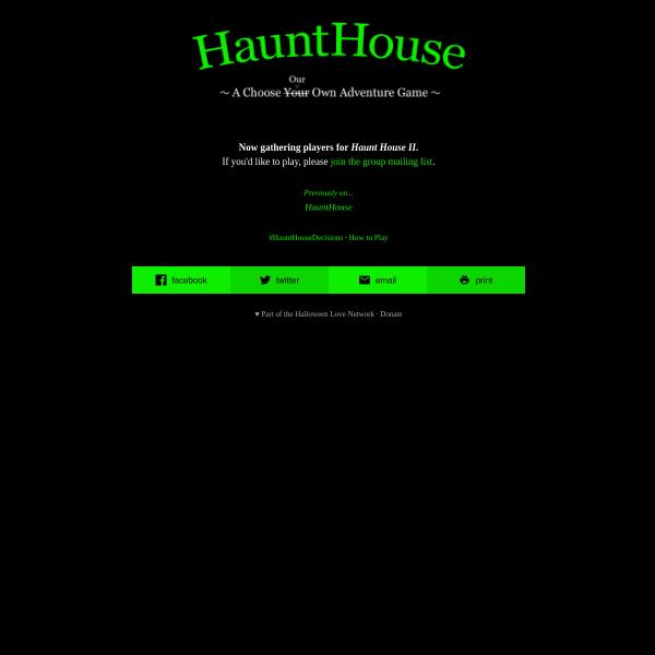 HauntHouse