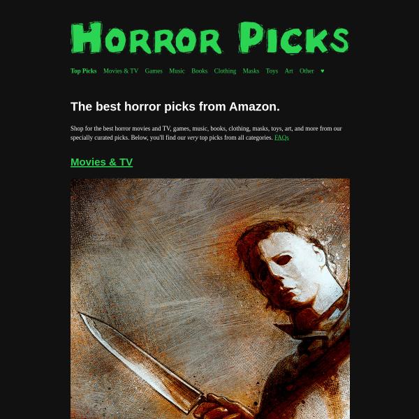 Horror Picks