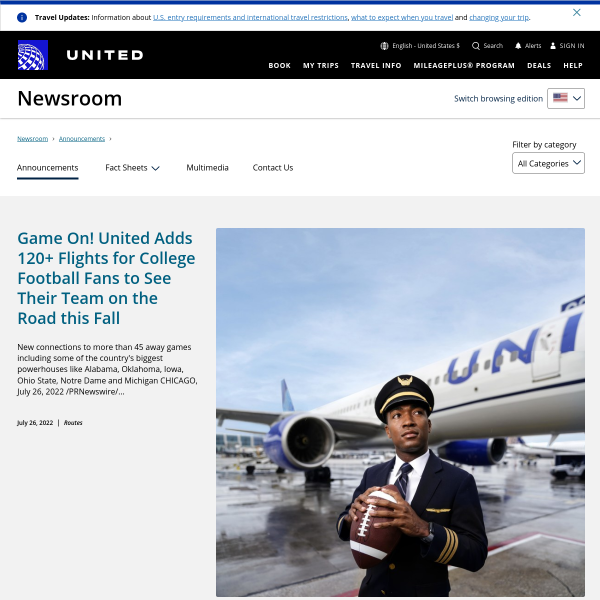Upward Mobility: United Airlines Takes Home CIO 100 Award for its Mobile Platform Innovations