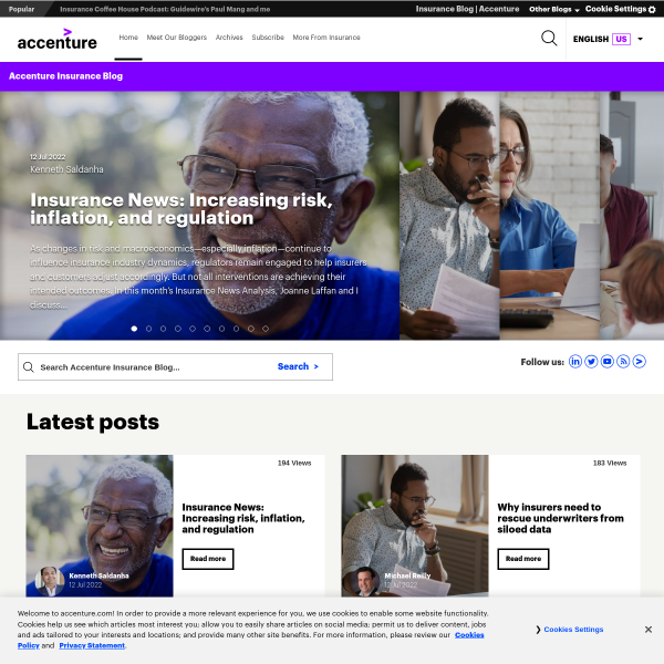 Insurance Innovation Awards 2016: Nominees for Digital and Omnichannel Distribution - Accenture Insurance Blog