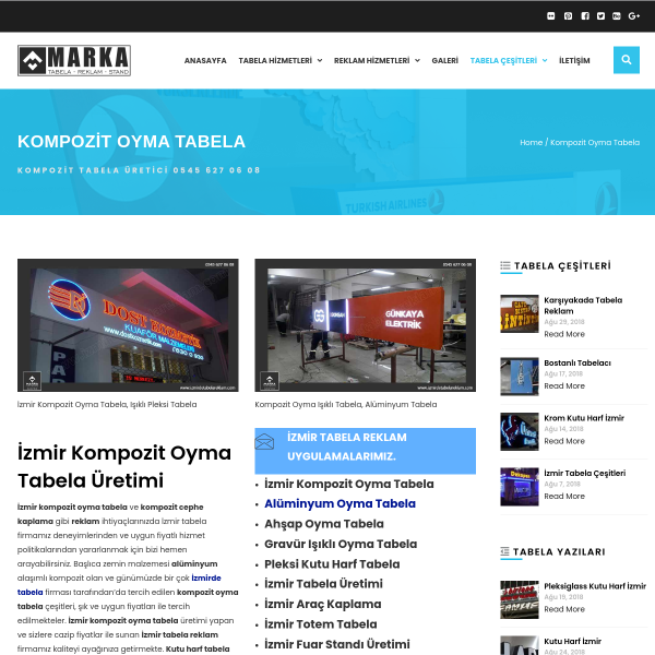 İzmir Tabela