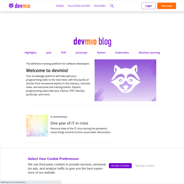 It's an honor to be nominated: JAX Innovation Awards 2017 nominations close tomorrow - JAXenter