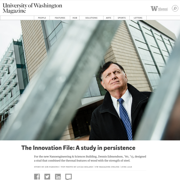 The Innovation File: A study in persistence