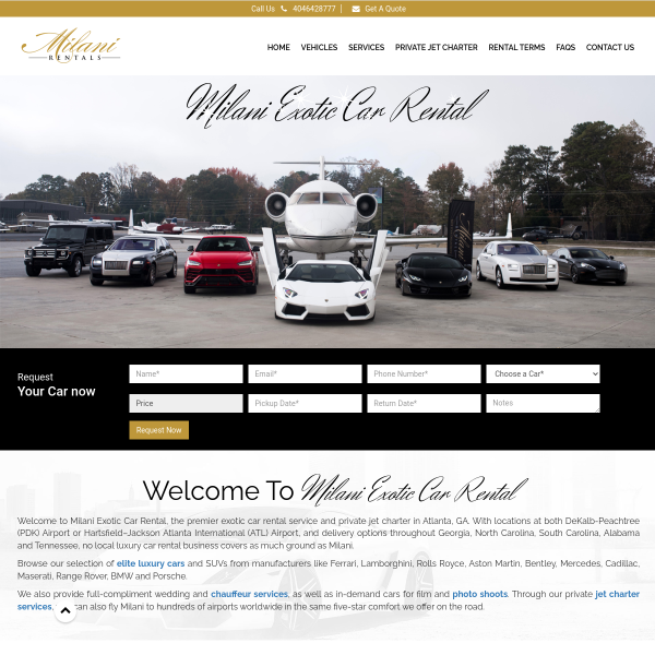Read more about: Luxury Car Rental Dekalb Peachtree Airport