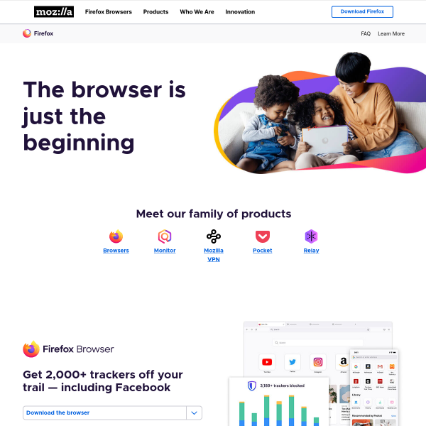 Internet for people, not profit     — Mozilla    screenshot