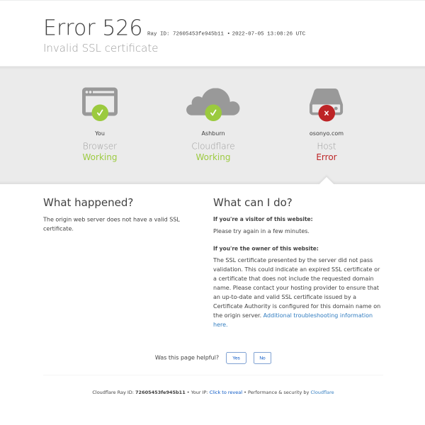 osonyo.com screen