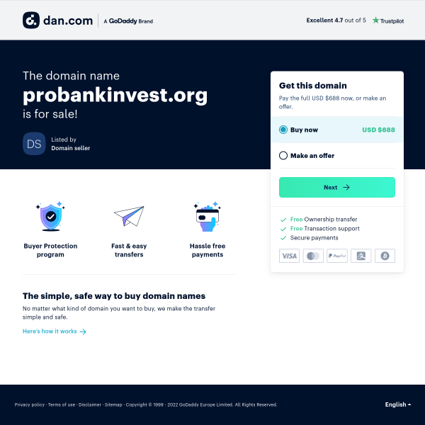 probankinvest.org screen