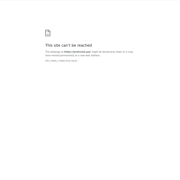 proinvest.pw screen