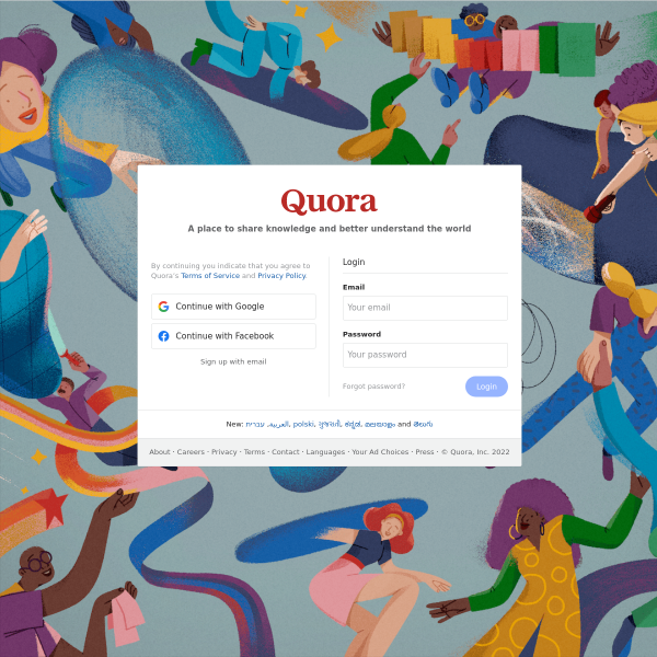 Quora - A place to share knowledge and better understand the world screenshot