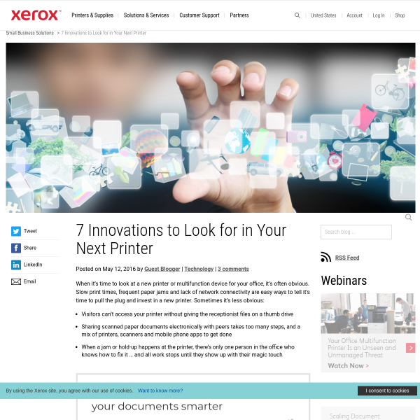 7 Innovations to Look for in Your Next Printer - Small Business Solutions