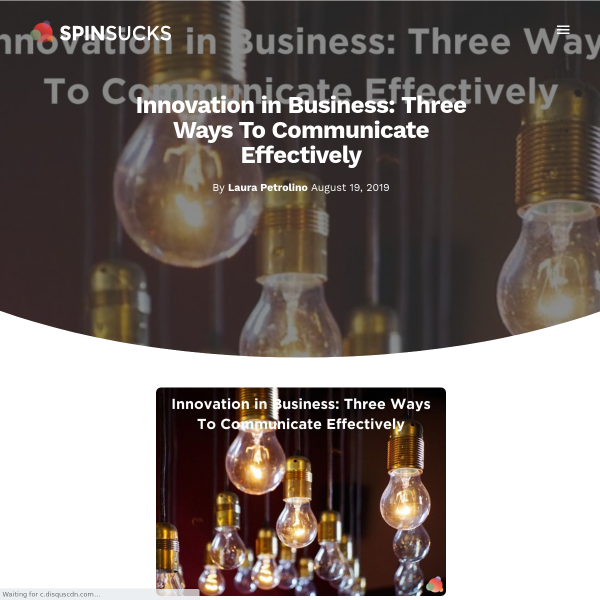 Innovation in Business: Why Words Hold Us Back